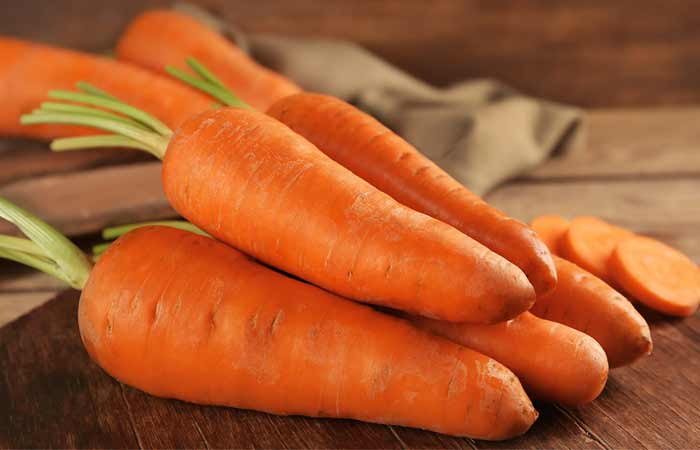 Foods To Prevent Hair Loss - Carrots