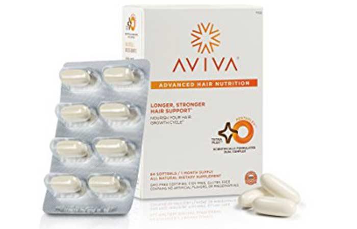 Hair Growth Supplements - Aviva Hair Revitalizer