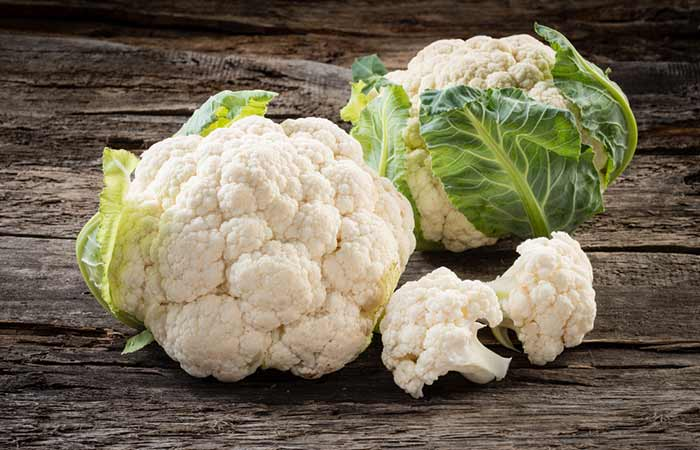 Foods To Prevent Hair Loss - Cauliflower