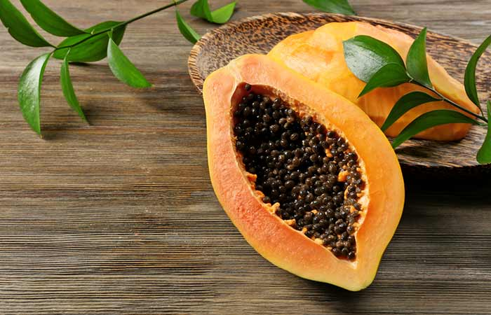 6. Papaya Face Pack For Instant Fairness