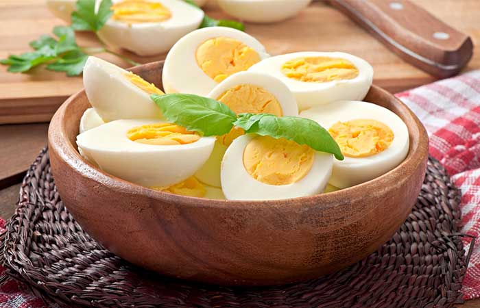 Iron-Rich Foods - Eggs