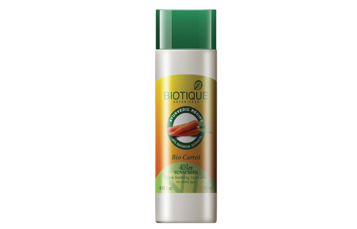 Best Sunscreens For Dry Skin - 7. Biotique Bio Pro Carrot Protective Lotion