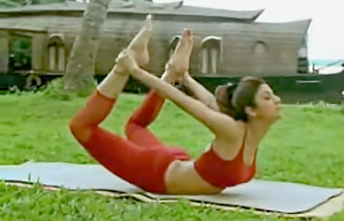 Dhanurasana - For Stress Release And Relief From Menstrual Cramps
