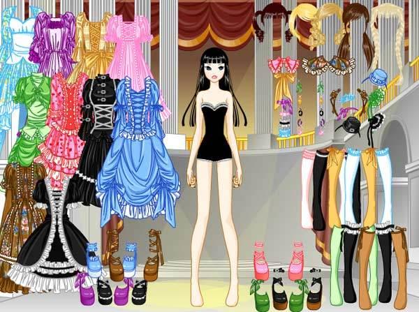 gothic lolita dress up