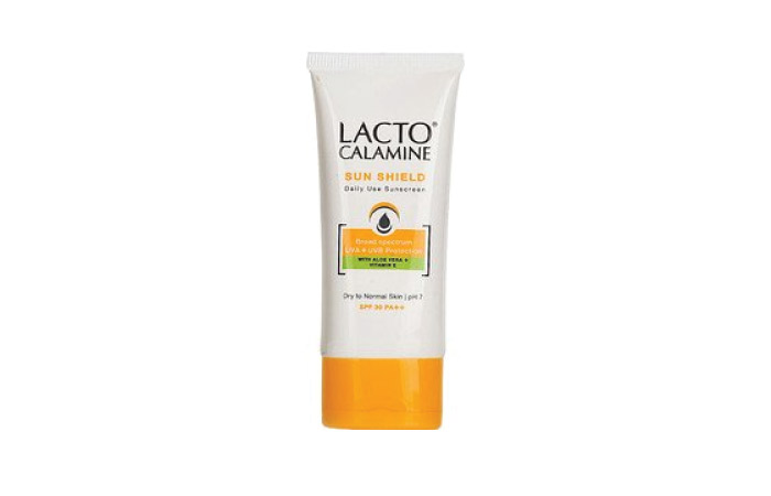 Best Sunscreens For Dry Skin - 3. Lacto Calamine Sun Shield with Spf 30