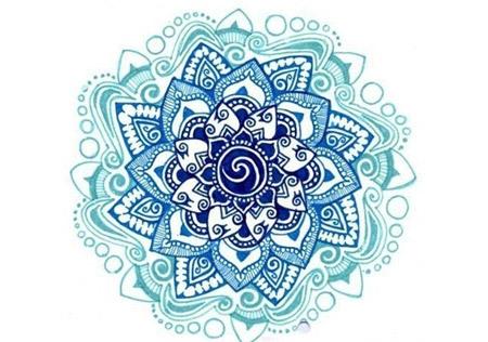 "Lotus ""Mandala"" Tattoo"