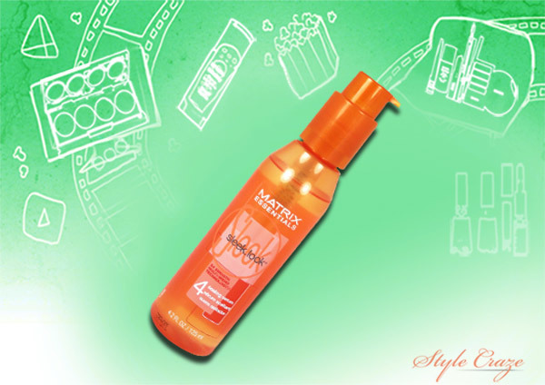 matrix essentials sleek look sealing serum