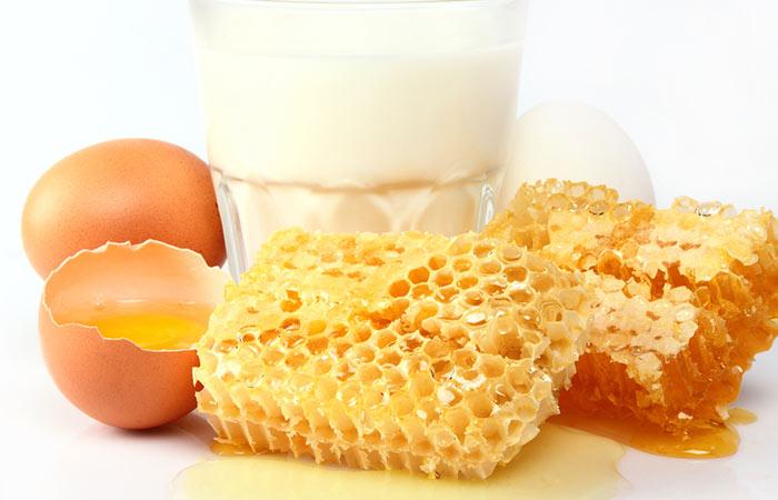 Potato-Juice-Honey,-And-Egg-Mask