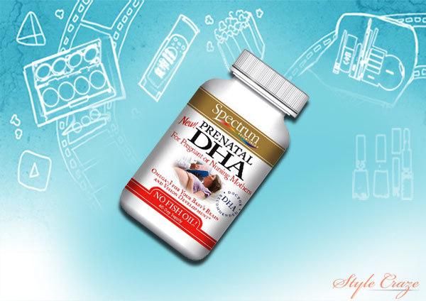 spectrum essentials prenatal dha softgels