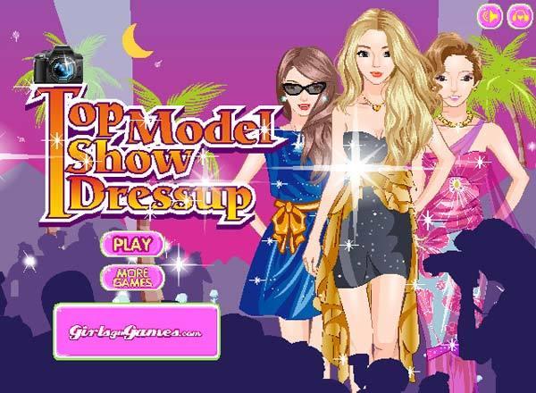 top model show dress up