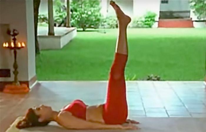 Utthanpadasana - To Improve Blood Circulation