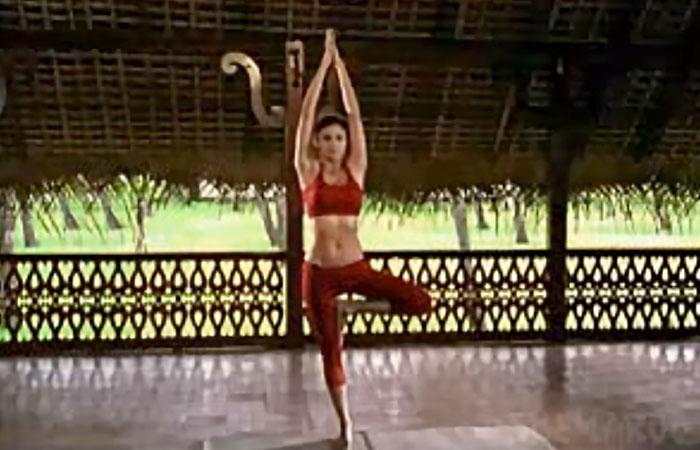 Vrikshasana - To Improve Balance And Stability