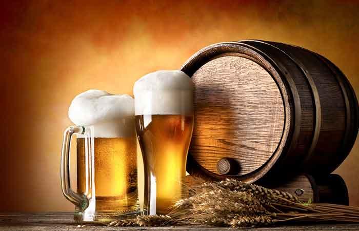 10. Beer Hair Treatment
