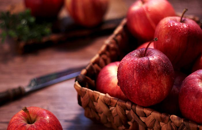 Foods For Healthy Liver - Apple