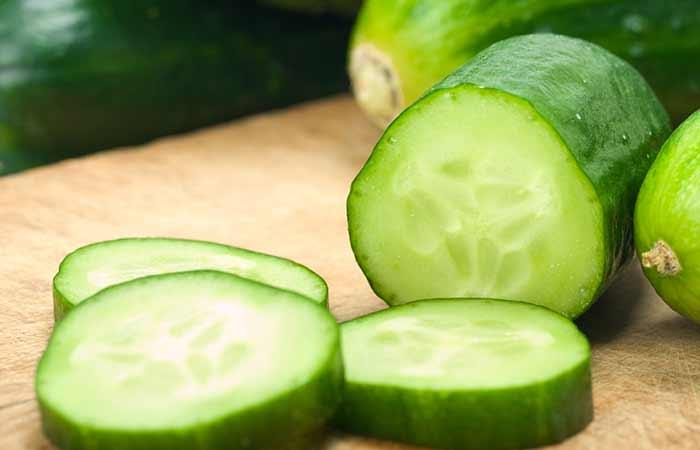 11. Cucumber Hair Spa Treatment