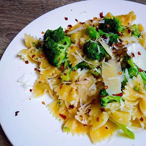 11. Quick Broccoli Pasta