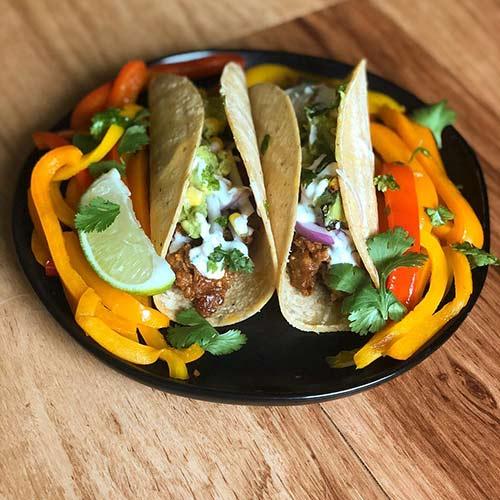 14. Delicious Vegan Tacos