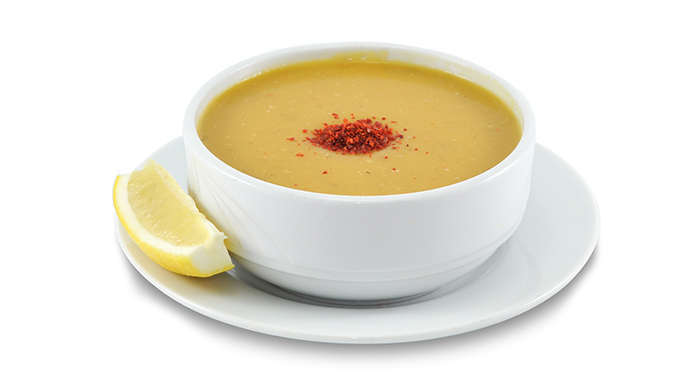 3. Lentil Soup With Flaxseeds Dinner