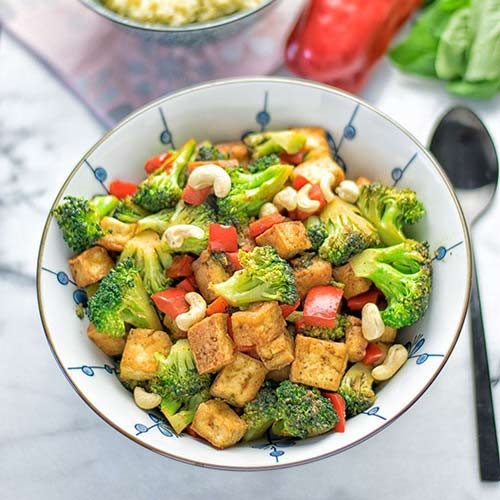 5.Veggie And Tofu Stir Fry