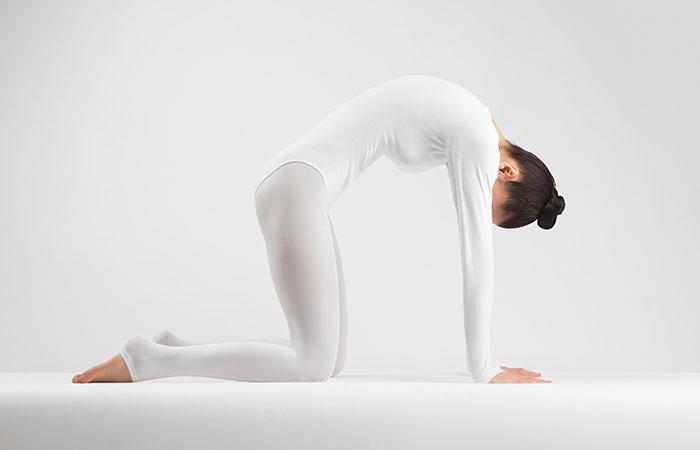 Marjariasana - yoga pose that will help fight insomnia