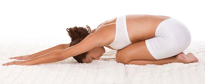 Balasana - yoga pose that will help fight insomnia