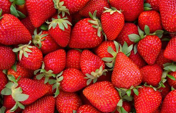 7. Strawberry Hair Spa Treatment