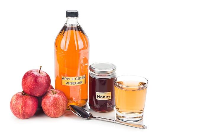 Apple-Cider-Vinegar-And-Honey-Hair-Mask