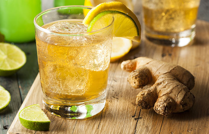 Weight Loss Drinks - Ginger And Lemon Gut Cleanser