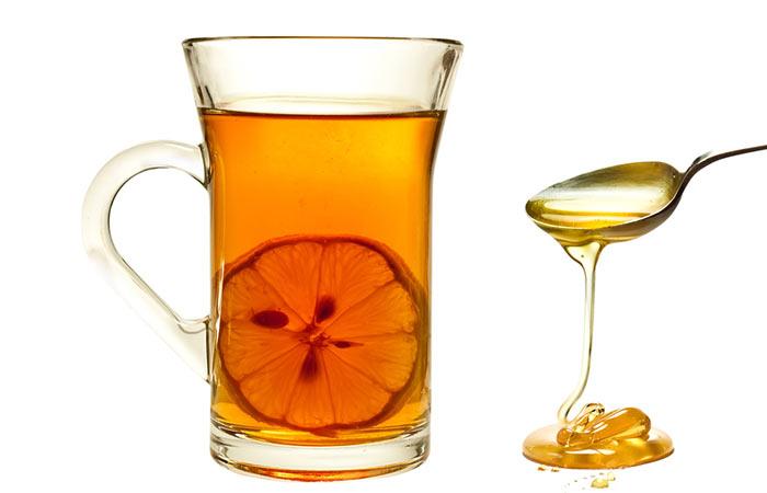 Weight Loss Drinks - Morning Honey And Lemon Detox