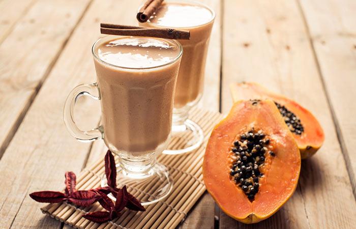 Weight Loss Drinks - Skinny Cinnamon And Papaya Drink