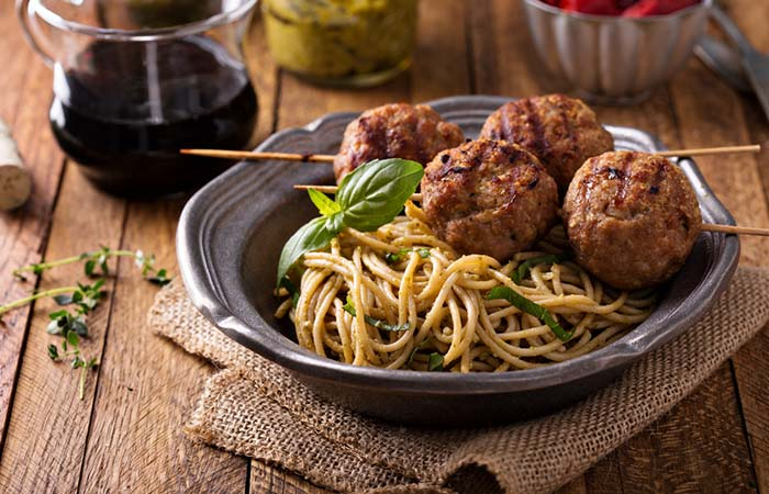 Easy Bland Diet Recipe - Spaghetti And Tofu Balls