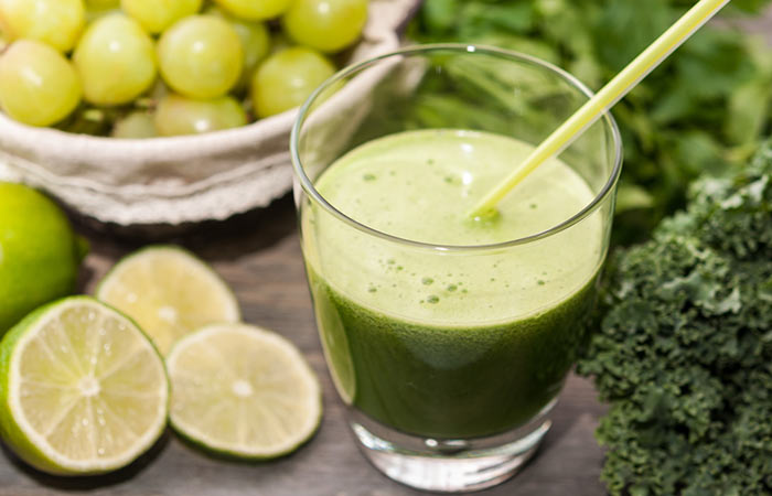 Weight Loss Drinks - Wheatgrass And Grape Fat Mobilizer