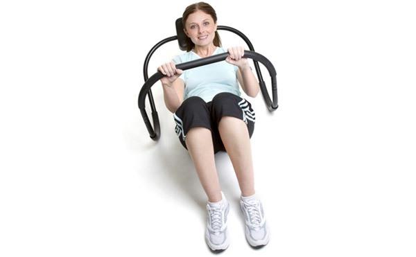 ab roller machine workout