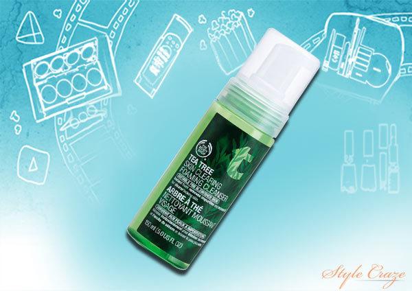 body shop tea tree skin clearing lotion