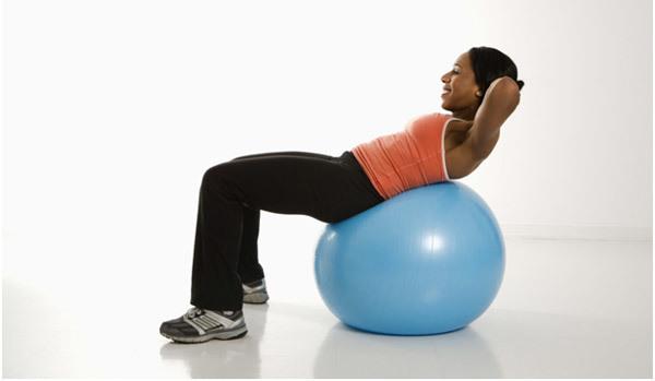gym ball exercises