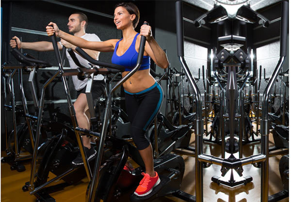 stepper machine workout