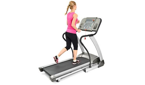 treadmill yoga