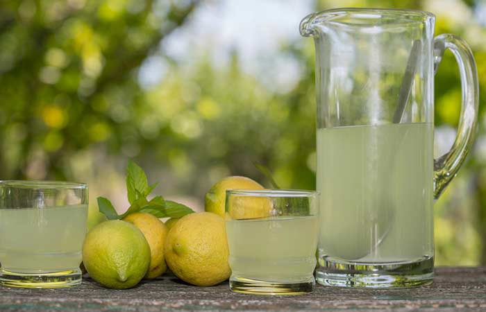 12. Lemon Juice