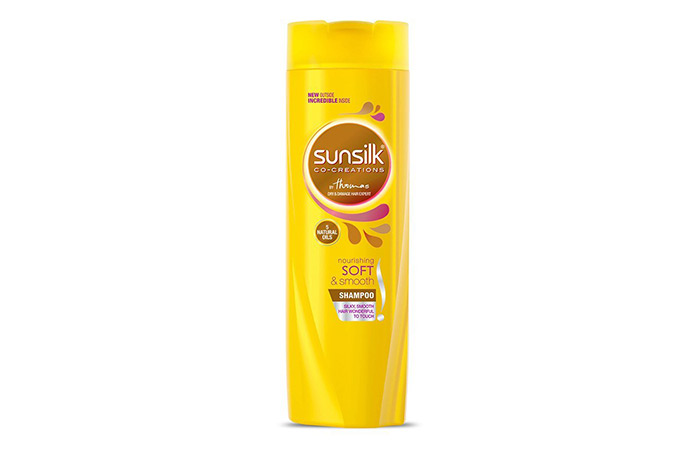 12. Sunsilk Nourishing Soft & SmoothShampoo