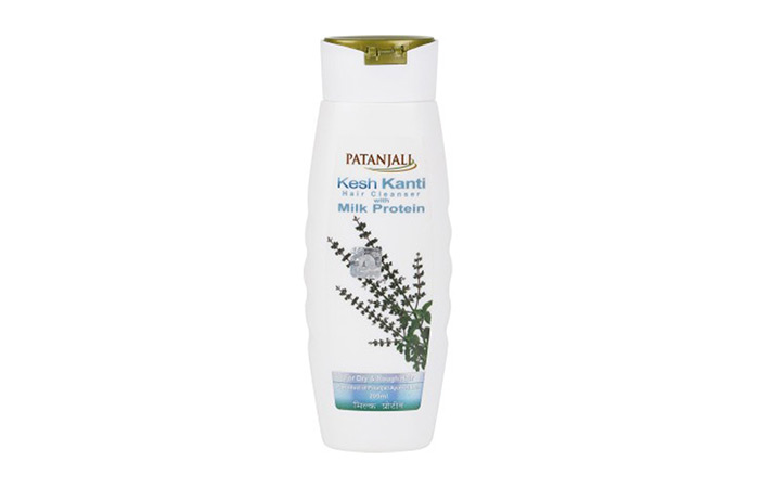 13. Patanjali Kesh Kanti Hair Cleanser With Milk Protein