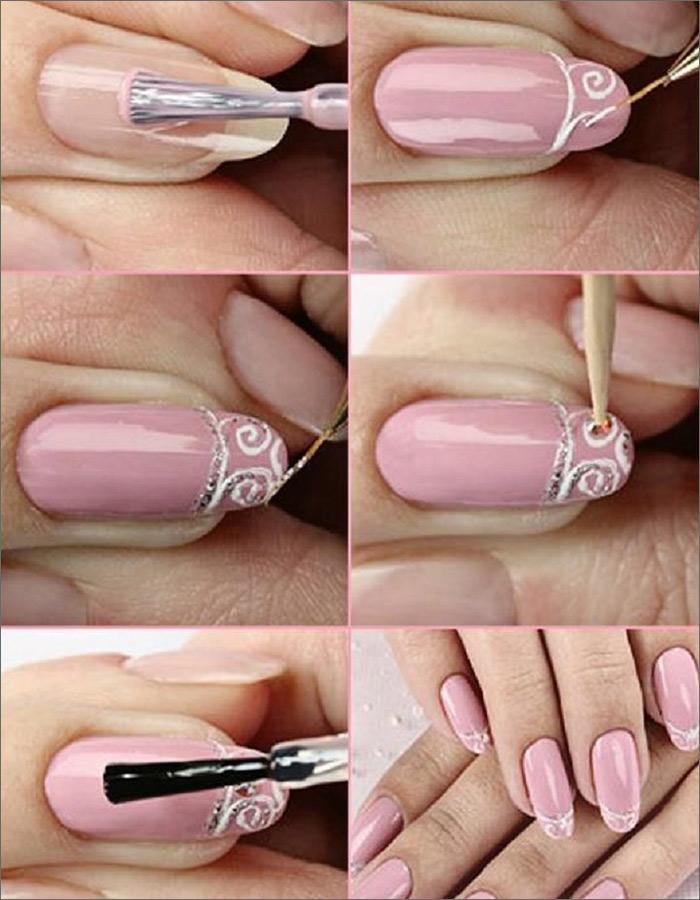 Blush Pink Intricacies