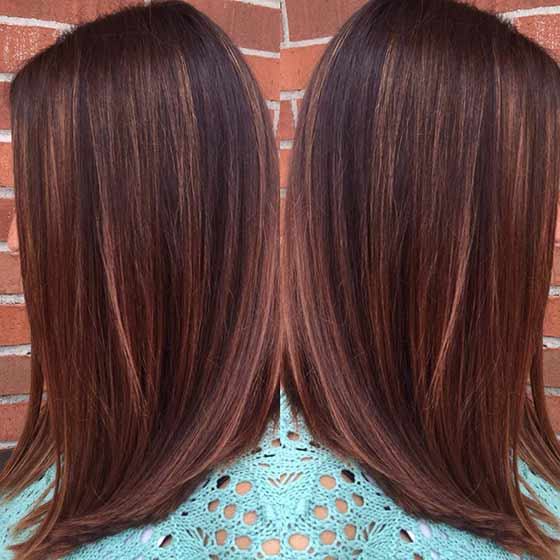 Top 30 Chocolate Brown Hair Color Ideas Styles For 2018