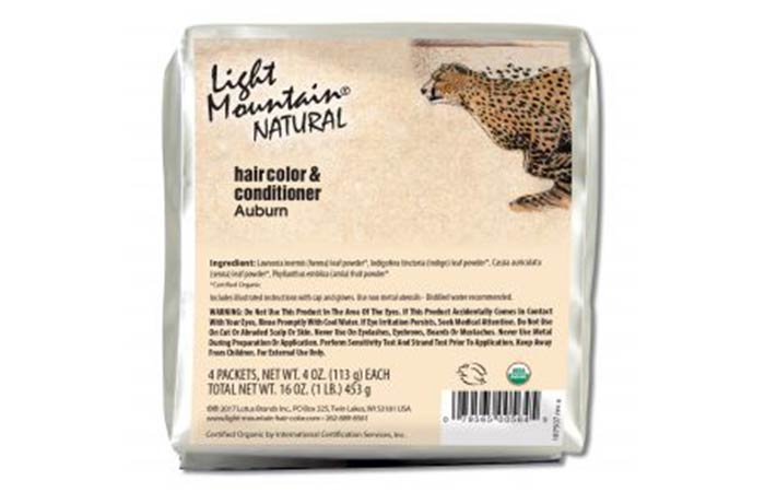 2. Light Mountain Natural Haircolor And Conditioner