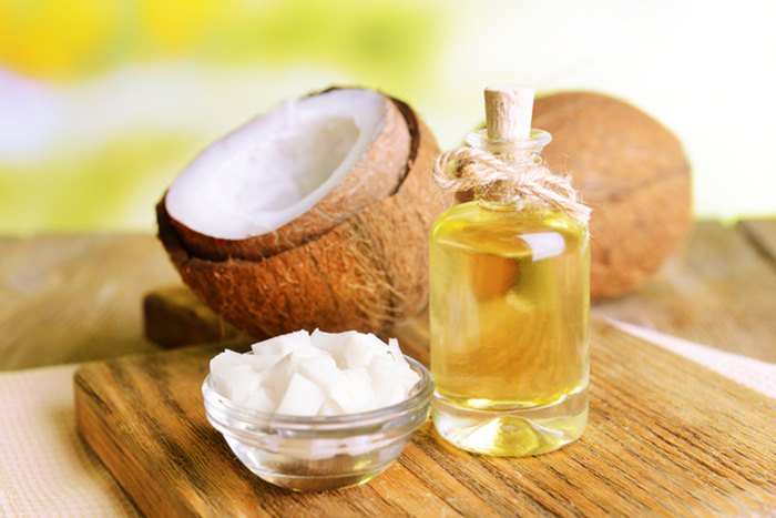 3. Coconut Oil For Mouth Ulcers