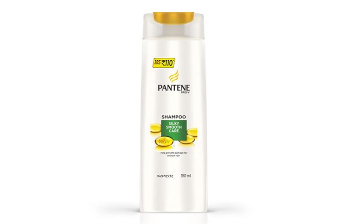 4.Pantene Pro-V Silky Smooth Care Shampoo