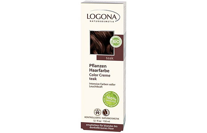 5. Logona Herbal Hair Color Creme