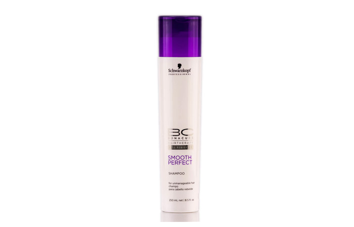 6.Schwarzkopf Bonacure Smooth Perfect Shampoo