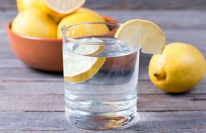 6. Warm Lemon Water