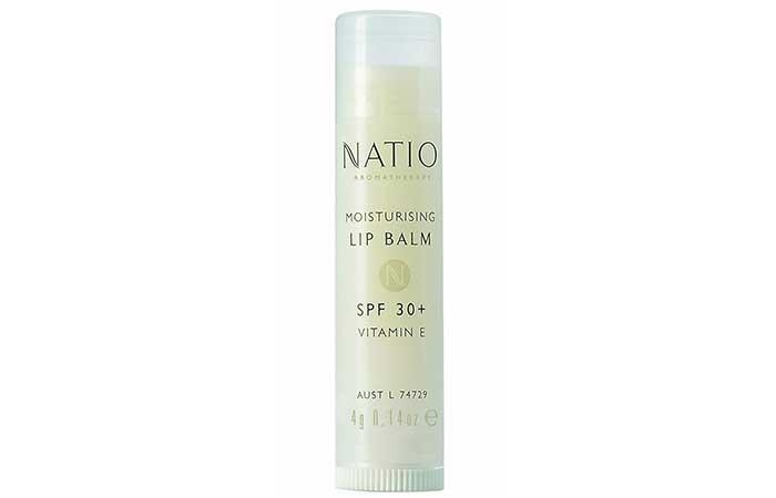Natio Aromatherapy Moisturizing Lip Balm SPF 30+