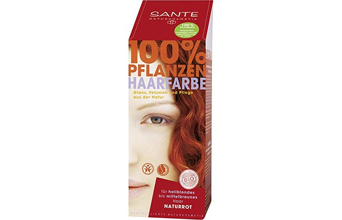 8. Sante Herbal Hair Color